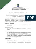 Edital de Admissão de Alunos Especiais Para Os Cursos de Mestrado e Doutorado Do PPGEC_2018_1