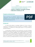 Clase 3 - Actividades Prácticas y Cognitivas Vinculadas Al Trabajo Colaborativo Mediado Por TIC