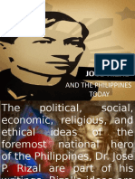Rizal and the Philippines Today