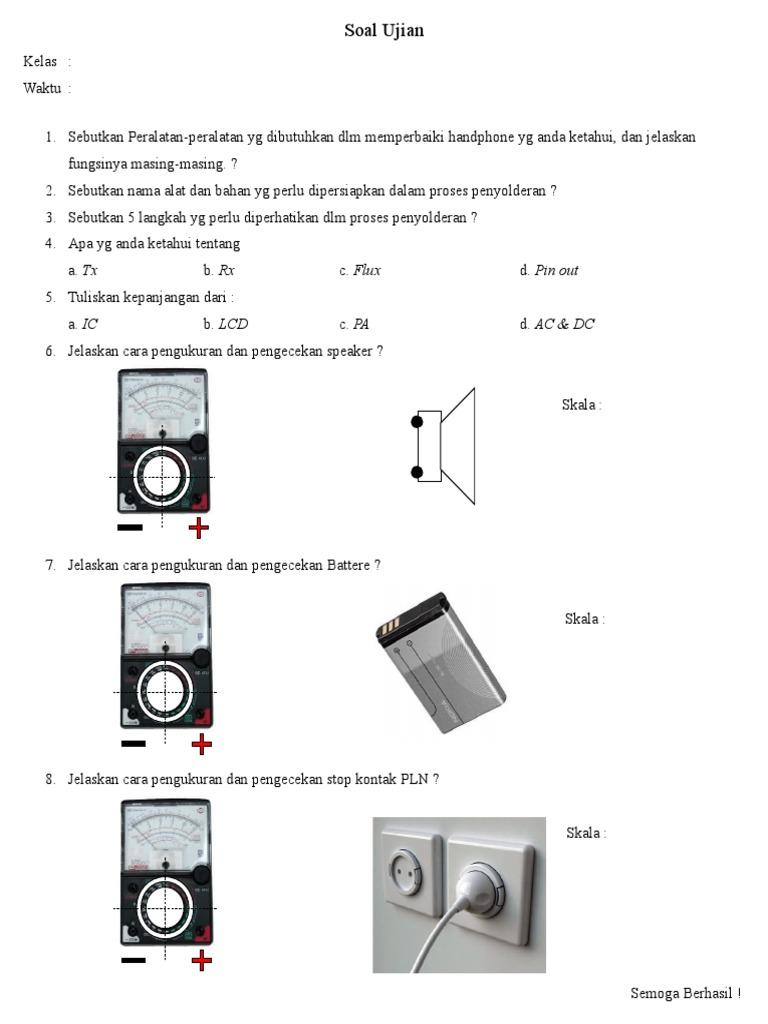 Soal ujian 1 ccuart Image collections