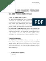 3. Bentukk Data Organisasi Perusahaan
