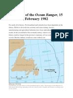 The Loss of the Ocean Ranger