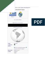 República Del Uruguay