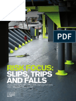 Risk Focus Slip Trips and Falls