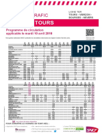 Tours Vierzon Bourges Nevers 10 Avril