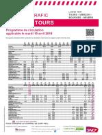 Tours Vierzon Bourges Nevers 10 Avril