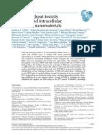 Review Genotox Nanomedicine and Nanobiotechnology
