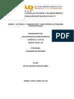 Diagnosticar y Caracterizar El Problema de Investigación-JMR