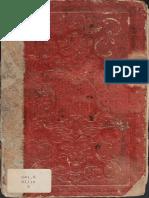 Livro de Receitas-O Cozinheiro Imperial-do Ano 1852-Museu Imperial de Petropolis