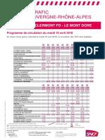 Clermont - Le Mont-Dore