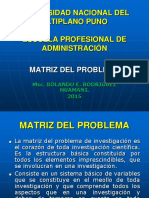 4MAESTRIA PROYECTO INVESTIG-MATRIZ DEL PROBLEMA.ppt