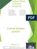 Tugas Sediaan Enzim Dan Protein