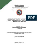 Estudio de Factibilidad Tecnico y Economico Para La Implementacion de Energia