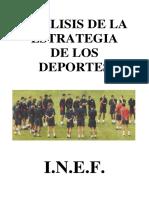 Análisis de La Estrategia de Los Deportes.