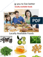 Locally Available Foods