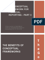 The Conceptual Framework for Financial Reporting - PART II
