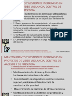 Mantenimineto y Gestion de Incidencias
