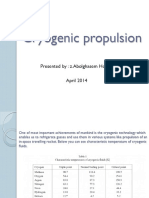 Cryogenic Propulsion