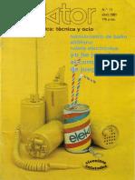 Elektor 11 (Abril 1981)