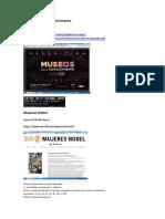 Información sobre exposiciones