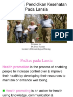 Health_promotion for Elderly New.ppthealth_promotion for Elderly New