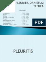 Kelompok 5 Pleuritis Dan Efusi Pleura