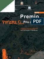 Locandina Bando Piranesi Prix de Rome 2010