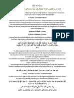 Doa Perhimpunan Tahfiz Darul Quran