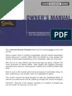Stella Owners Manual