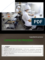 Unidad 2 Herramientas de Calidad Capacidad de Proceso