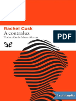 A Contraluz - Rachel Cusk