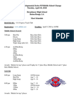 Broadmoor Track and Field Meet, April 10
