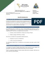 Boletín Informativo Sociedad Civil y Actores Sociales - VIII Cumbre de Las Américas CUMBRE OFICIAL