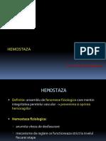 Curs 12 Hemostaza - Editat