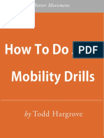 How to Do Joint Mobility Drills E Book July 2014