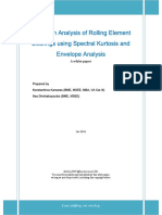 Vibration Analysis of Rolling Element