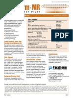 Paratherm MR Bulletin