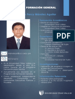Plantilla Para CV Mauricio Méndez Aguilar