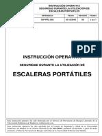 Instrucción Operativa Escaleras Manuales