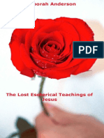 The Lost Esoterical Teachings of Jesus