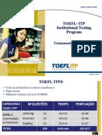 Treinamento TOEFL Itp Isf 2016
