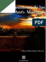 El Problema de los Anti-Madhab