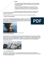 12 Types of Maritime Accidents