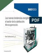 Baxi Roca Microcogeneracion