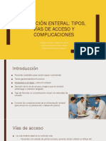 Uni 4 - Nutricion Parenteral y Enteral