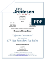 April 10 Biden Invitation
