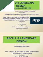 Arch 219 Landscape Design1