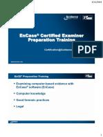 EnCase Preparation Training v7 2013