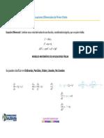 Ecuaciones Diferenciales - Variables Separables