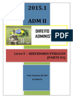 Adm II Livro v Servidores Públicos Parte i 2015.1